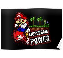 Mushroom Power (Print Version) Poster