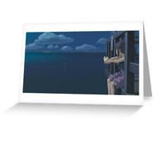 Spirited Away - Studio Ghibli - Boat / Water - Upscale Greeting Card