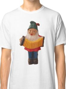 Gnome playing the concertina Classic T-Shirt