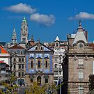 Portugal. Porto. Church Dos Congregados &amp; Sao Bento Train Station. by vadim19