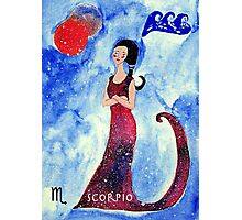 Scorpio * 24 October - 22 November * element water * planet Mars&Pluto * profound, headstrong, loyal * Photographic Print