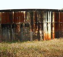 Farmland Watertank by Vanessa Barklay