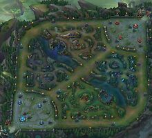 Summoner's Rift - League of Legends - Ultra High Res  by frictionqt