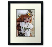 Carrot Army Framed Print