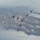 Red Arrows Display Team by Stuffy1940