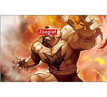 Zangief - Street Fighter - Supreme Photographic Print