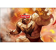 Zangief - Street Fighter - Supreme Photographic Print
