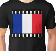 France Flag Film Unisex T-Shirt