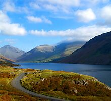 Wast Water- Lake District National Park by Lou Wilson