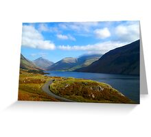 Wast Water- Lake District National Park Greeting Card