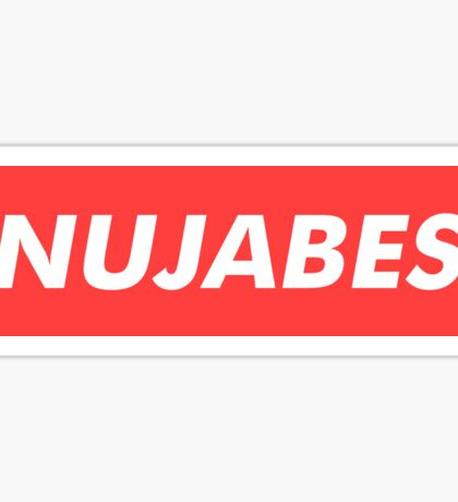 Nujabes ヌジャベス Sticker