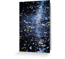 Trail of Shattered Light Greeting Card
