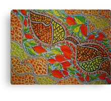 Pieces of Autumn... Canvas Print