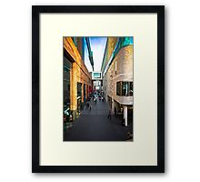 Liverpool One Framed Print