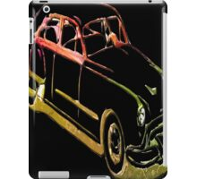 Neon Car iPad Case/Skin