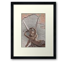 amor and psyche Framed Print