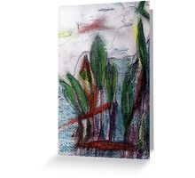 love amongst the reeds Greeting Card