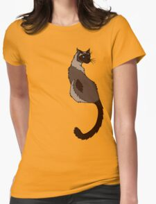 Slinky Seal Point Siamese T-Shirt