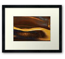 Caramel Framed Print