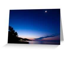 Tranquil Dawn Greeting Card