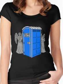 The Angels Have the Wrong Box! Women's Fitted Scoop T-Shirt