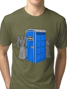 The Angels Have the Wrong Box! Tri-blend T-Shirt