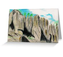 Beautiful Rocks Greeting Card