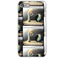 The Atheist : If I have told you earthly things.... iPhone Case/Skin