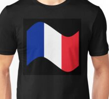 France Flag Wave Unisex T-Shirt