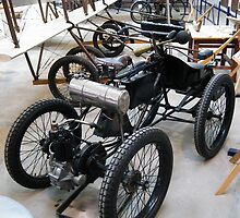 1903 Marot Gardon Quadricycle by Andy Jordan