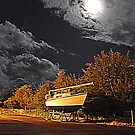 A BOAT MY MOON LIGHT by TIMKIELY