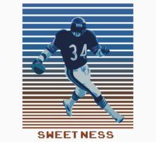 Walter Payton Sweetness One Piece - Short Sleeve