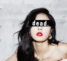 4Minute - Hyuna (김현아) - K-Pop - /DEAD/ - Lookbook style Sticker
