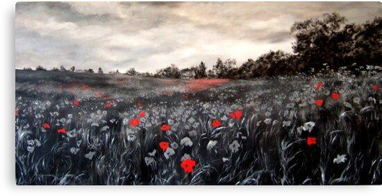 field of rememberance by Jennib