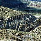 Mascall Formation Overlook - Grant County, OR by Rebel Kreklow