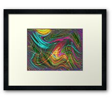 oceanic dream  Framed Print