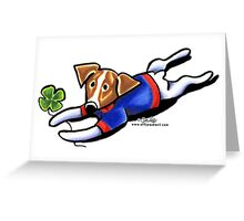 Lucky Jack Greeting Card