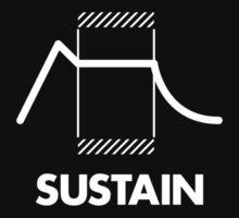 ADSR - Sustain (White) Kids Clothes