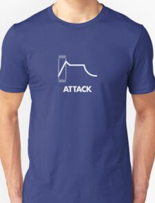 ADSR - Attack (White) Unisex T-Shirt