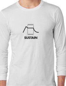 ADSR - Sustain (Black) Long Sleeve T-Shirt
