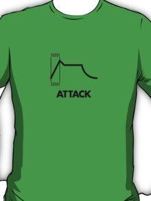 ADSR - Attack (Black) T-Shirt