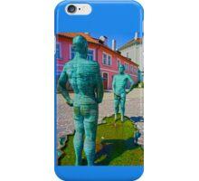 Peeing Men iPhone Case/Skin