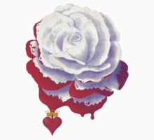 Painted Rose Stickers, T-Shirts, Hoodies by Audra Lemke