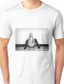 Leather Boots - Censored Unisex T-Shirt