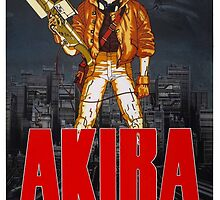 Akira - Promotional Poster by frc qt