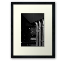 Industrial Abstract Framed Print