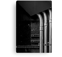 Industrial Abstract Canvas Print