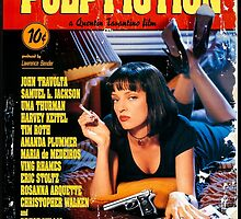 Pulp Fiction - Promotional Poster by frc qt