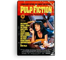 Pulp Fiction - Promotional Poster Canvas Print
