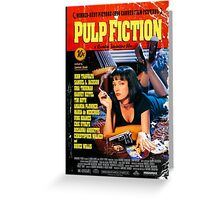 Pulp Fiction - Promotional Poster Greeting Card